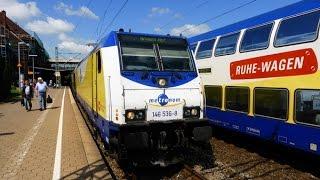 DB-Hamburg - Der Bahnhof Hamburg-Harburg [1080p-HD]