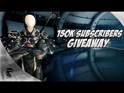 Warframe: 150k Subscribers Giveaway! Mirage Prime access and 2000 Platinum! thumbnail