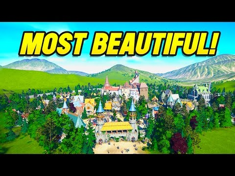 Planet Coaster Creations : MOST BEAUTIFUL PARK IN THE WORLD!