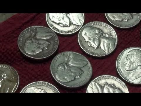 NICKEL COIN ROLL HUNTING FINDS late night adventure