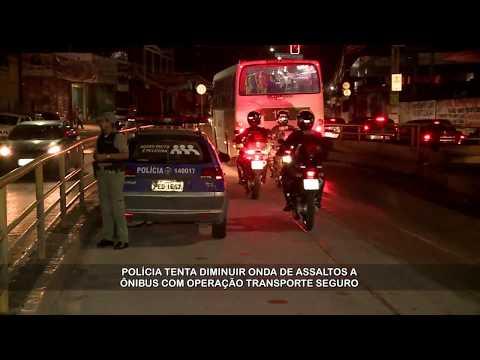 Polícia faz operação Transporte Seguro