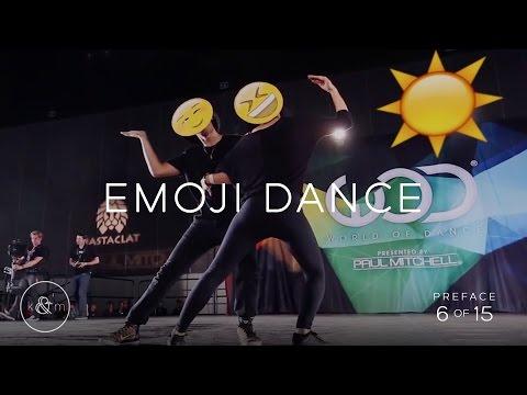 """Emoji Dance""   Keone & Mari Madrid choreography   Preface 6 of 15"