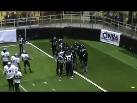 2014 Dayton Sharks vs Detroit Thunder CIFL Week 3