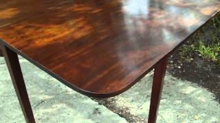 Vintage Mahogany Drop Leaf Table Gateleg Table
