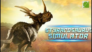 Styracosaurus Simulator - Android Gameplay FHD