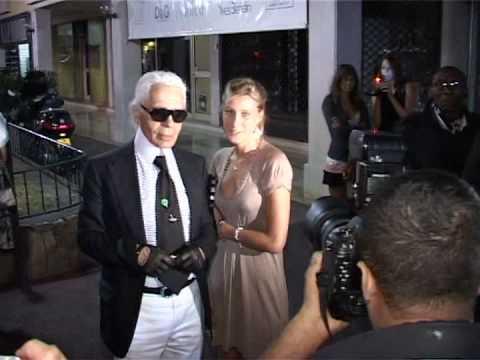 Karl Lagerfeld In St.Tropez