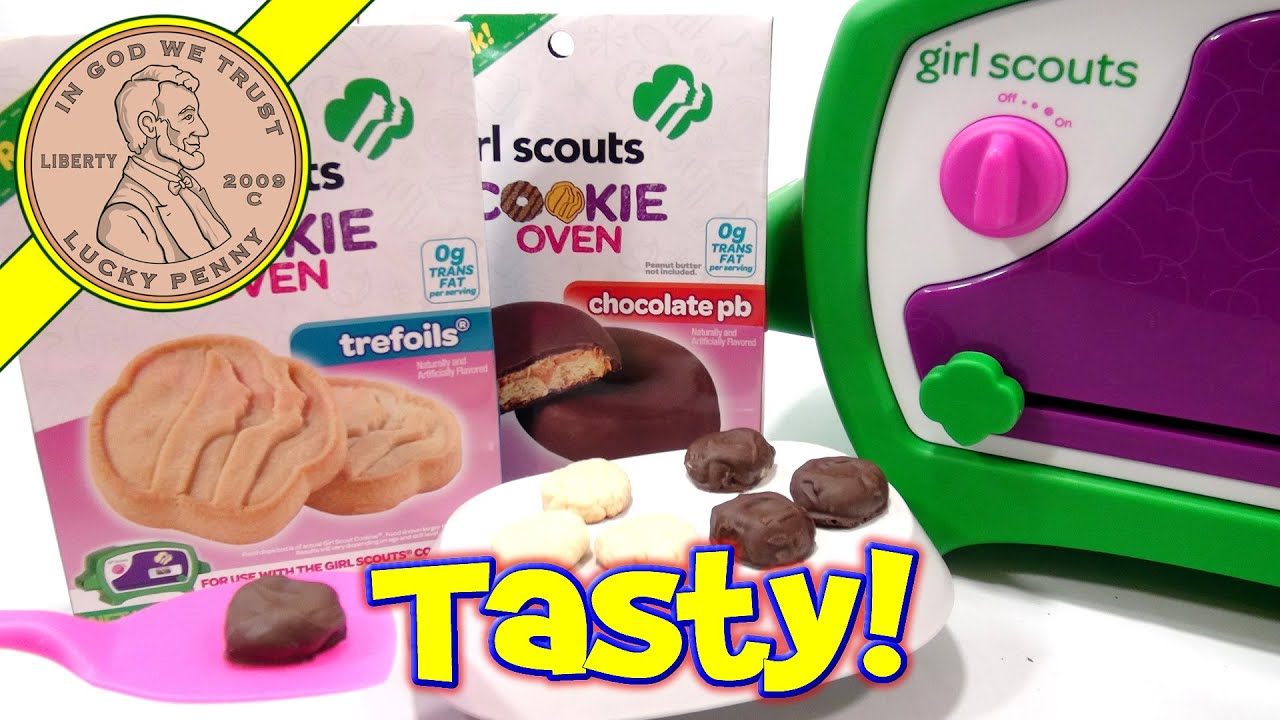 girl scouts cookie oven i bake trefoil amp chocolate pb