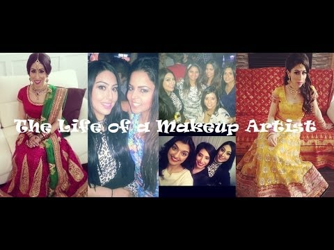 VLOG: Indian Weddings: Indian Bridal Makeup Artist - keepingupwithmona