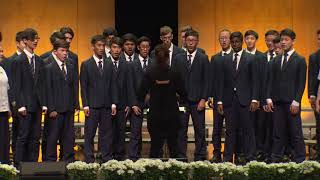 The Big Sing 2017 Session 01 Mcleans College Chorale - Ezekiel saw de wheel, trad spiritual arr Will