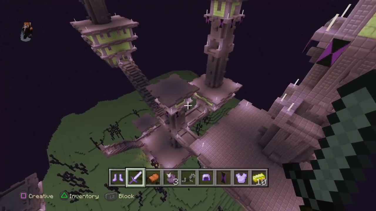 How to get to the End City and End Ship - Minecraft PS9