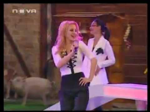 """Desislava - Tsvetinite ochi  at """"Az obicham Bulgaria"""" NOVA TV"""