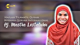 Gambar cover MERDUNYA SUARA EMAS QORIAH INTERNASIONAL HJ MASTIA LESTALUHU