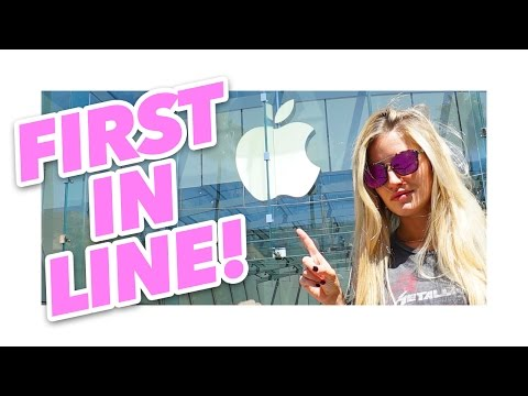 Thumbnail: First in line for iPhone 7 at the Apple Store! | iJustine