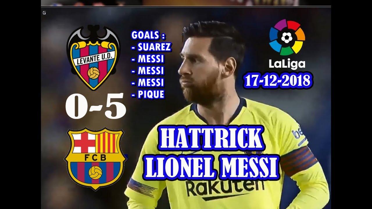 LEVANTE vs BARCELONA (hasil liga spanyol tadi malam) - YouTube
