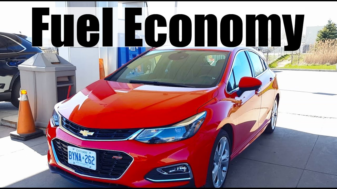 2018 Chevrolet Cruze - Fuel Economy MPG Review + Fill Up Costs - YouTube