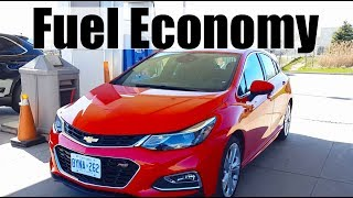 2018 Chevrolet Cruze - Fuel Economy MPG Review  + Fill Up Costs