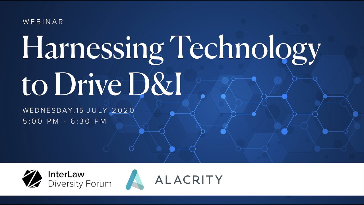 Harnessing Technology to Drive D&I