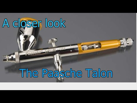 A Closer look...The Paasche Talon airbrush