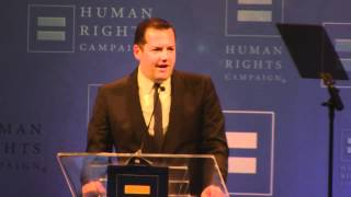 Ross Mathews Speaks at HRC Speaks at The Human Rights Campaign (HRC) Los Angeles Gala 2012