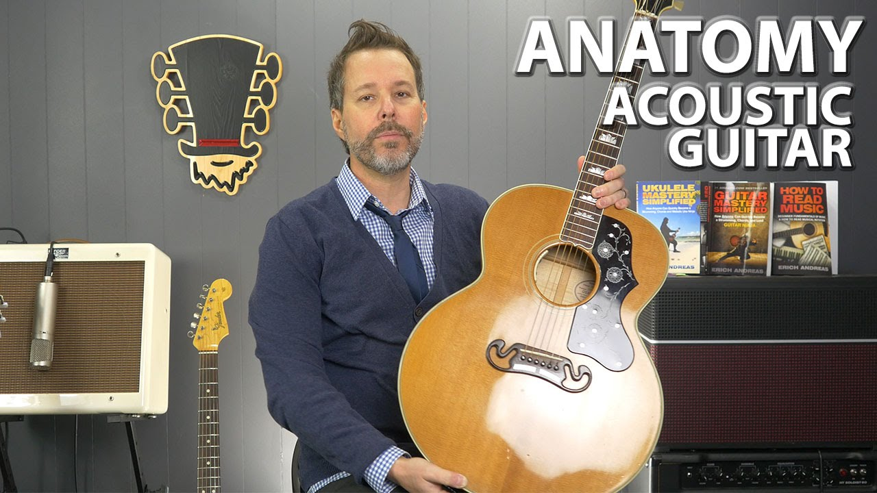 Anatomy of the Acoustic Guitar - YouTube
