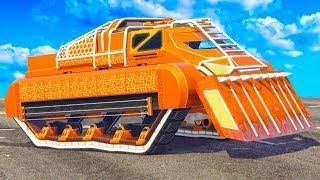 NEW $5,000,000 FUTURISTIC TANK! (GTA 5 Arena War DLC)