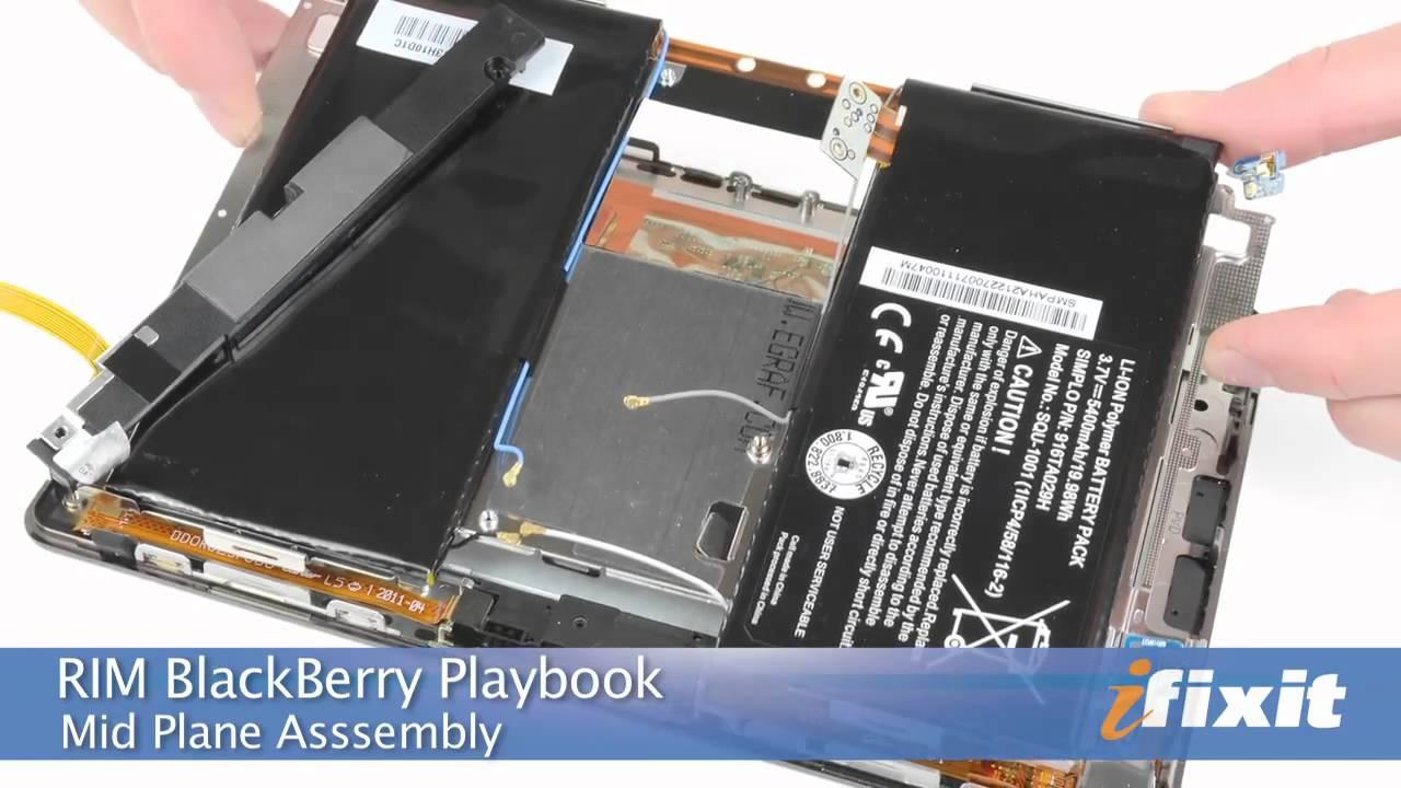 Ifixits Rim Blackberry Playbook Teardown Youtube Short Circuit No Disassemble