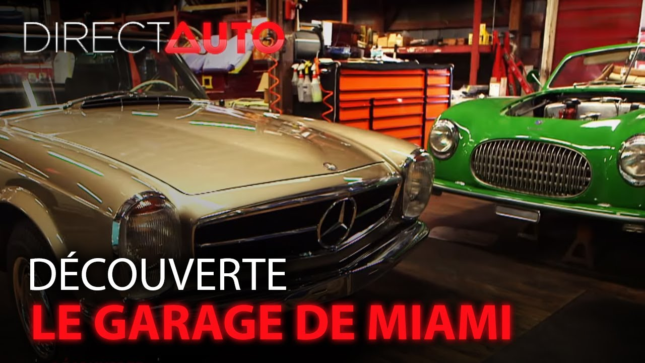 Dans le plus beau garage de miami youtube for Wing motors automobiles miami fl