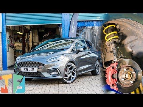 MK8 Fiesta ST - How To Install Lowering Springs 👇🏼 🚗👇🏼#slammed