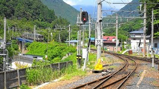 〔4K UHD|cc〕JR東日本・仙山線:山寺駅、E721系/快速列車、入線シーン。