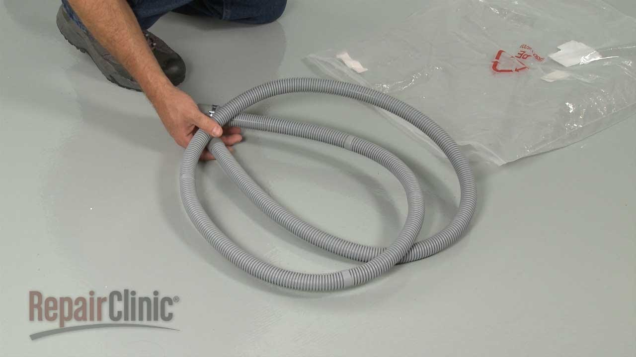 Samsung Washer Drain Hose Replacement Dc97 12534d Youtube