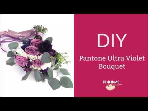 DIY Ultra Violet Bouquet