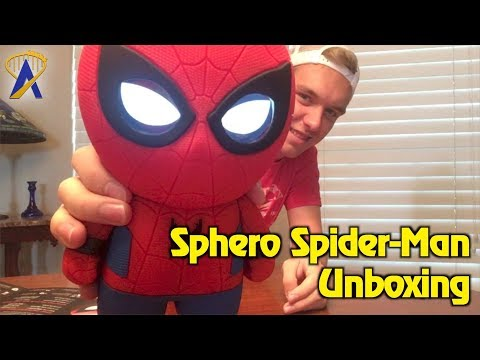 Sphero Interactive Spider-Man unboxing and play testing