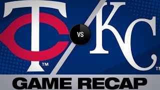 6/21/19: Twins score 3 in 8th to rally past Royals  | Twins-Royals Game Highlights 6/21/19