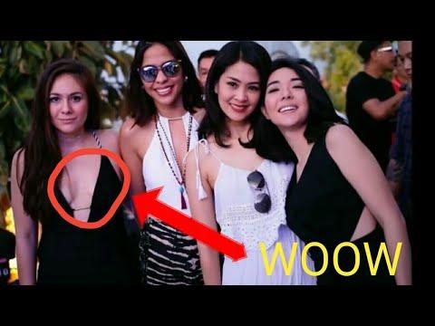 Tidak pakai bra | top artis indonesia
