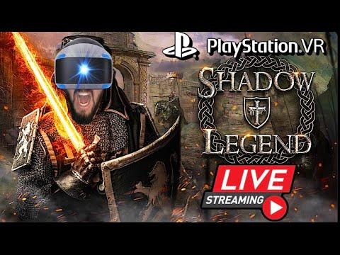 Shadow Legend Gameplay On Playstation VR