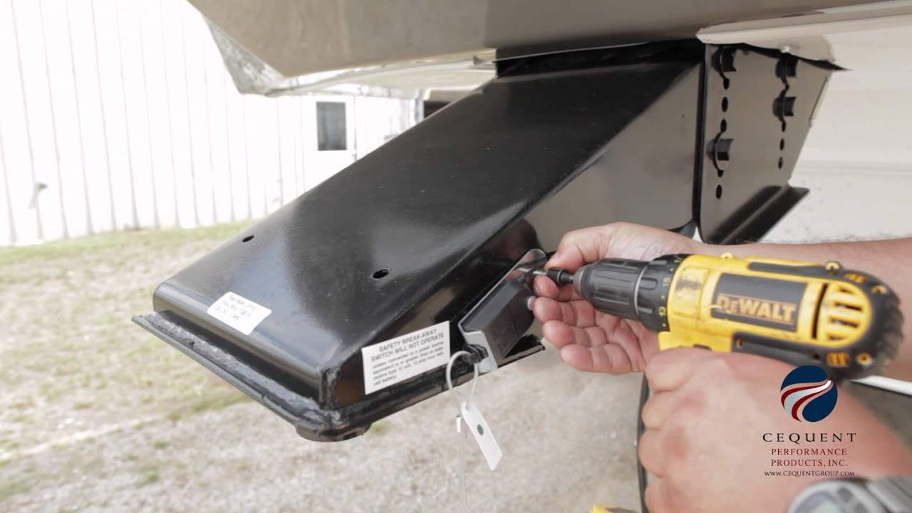 5th Wheel Pin Box Extension : Installing a reese goose box™ youtube