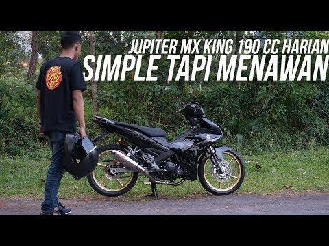 Review & Test Ride Jupiter MX King 190cc Harian