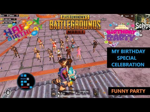 [Hindi] PUBG MOBILE | MY BIRTHDAY SPECIAL CELEBRATION FUNNY PARTY