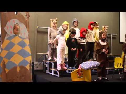 Eden Christian School Goldilocks K Spring Play