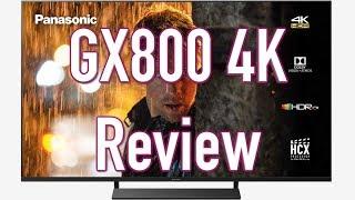 Panasonic GX800 (TX-58GX800B) TV Review