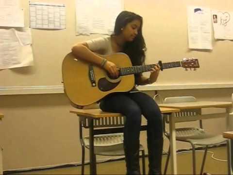Justin Nozuka - Save Him (Guitar+Singing)