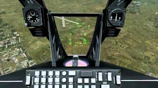 DCS: A-10C HD PC Gameplay - Intel i7 2600k 4.50 ghz