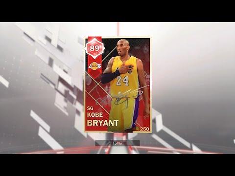 Moments Challenge Complete: Ruby Kobe Bryant Reward (NBA 2K18: MyTeam)