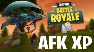 FORTNITE SOLO AFK XP GLITCH