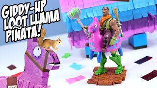 Fortnite Toys Giddy-Up Loot Piñata Llama Toy Review 2020