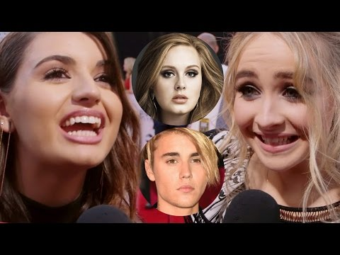 Adele vs Justin Bieber: Celebs Weigh In at AMAs 2015