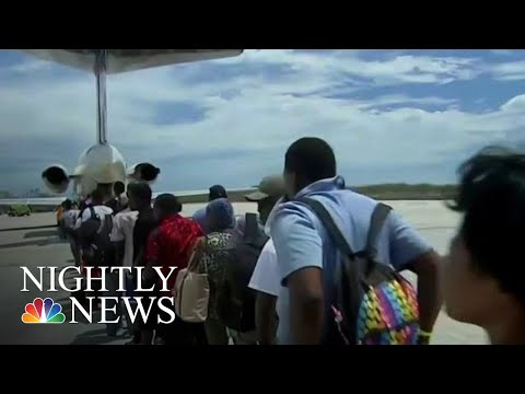 Desperate Scramble To Evacuate Thousands From Bahamas After Dorian | NBC Nightly News