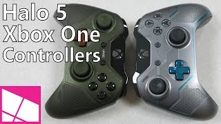 Halo 5 Limited Edition Xbox One Controllers - Review