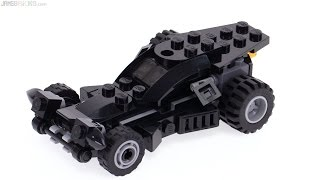 LEGO Batman v. Superman Batmobile polybag review! 30446