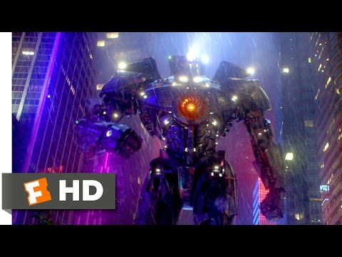 Pacific Rim - Gipsy Danger vs. Otachi Scene (6/10) | Movieclips